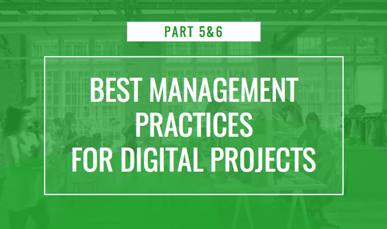 digital marketing agency how to manage digital projects